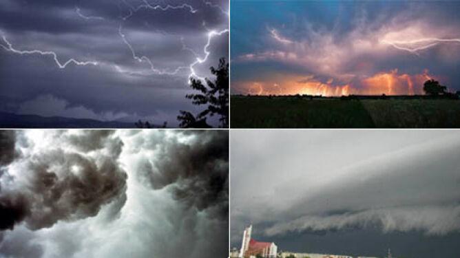 Upiorne chmury i deszcz piorunów zmiażdżyły konkurencję
