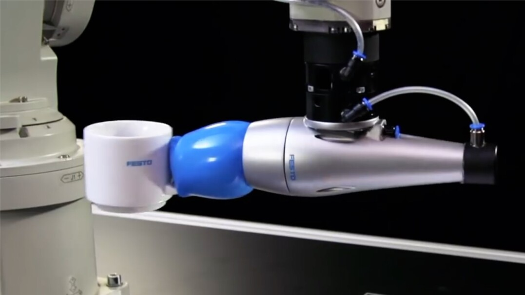 Robot inspirowany kameleonem
