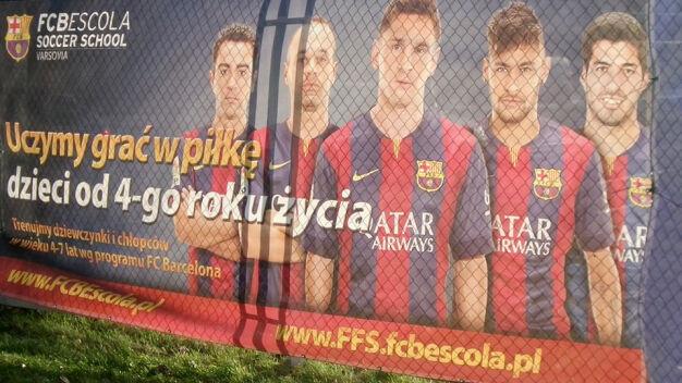 """""""Nie"""" dla szkółki Barcelony. Wymówiono jej umowę na teren"""