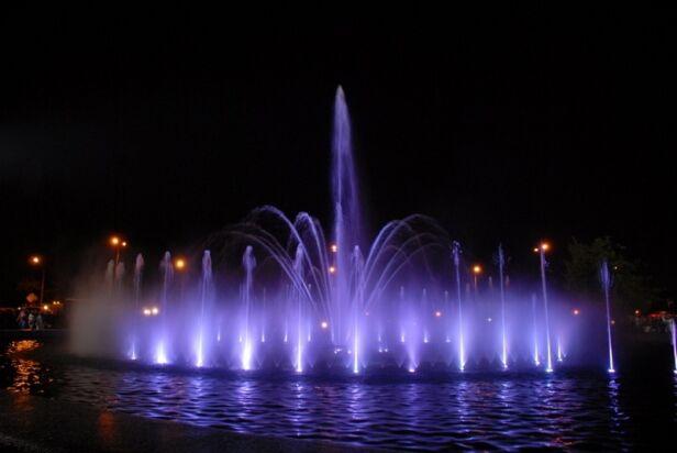 Park fontann UM Warszawa
