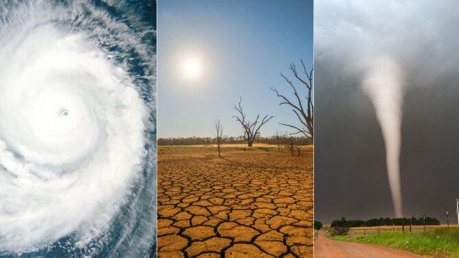 """Przybywa katastrof naturalnych na świecie. <br />""""Będą bardziej odczuwalne i intensywne"""""""