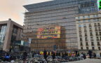 Akcja Greenpeace w Brukseli