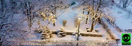 Śnieg za oknem. Zimowa aura na Waszych zdjęciach