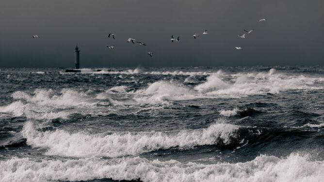 Wysoki stan wody w Bałtyku. Alarmy <br />hydrologiczne drugiego stopnia