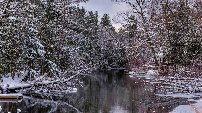 Prognoza pogody na dziś: pochmurno, zimno i przeważnie śnieżnie