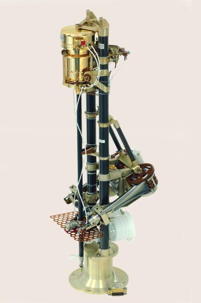 Penetrator MUPUS opracowany w Centrum Badan Kosmicznych PAN na zlecenie DLR - Niemieckiej Agencji Kosmicznej
