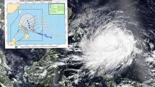 Pierwszy tajfun w tym roku nadciąga nad Filipiny