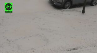 Za sprawą pyłu znad Sahary w Polsce spadł żółty śnieg
